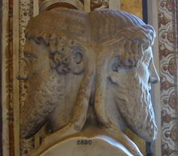 האל יאנוס: האל בעל שתי הפנים