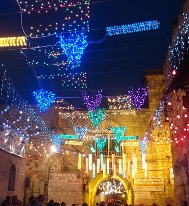 חגיגות הרמדאן בעיר העתיקה בירושלים