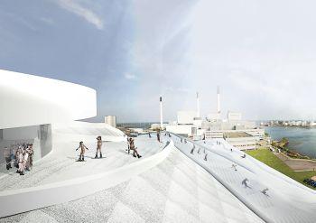 כך יראה אתר הסקי החדש בקופנהגן.